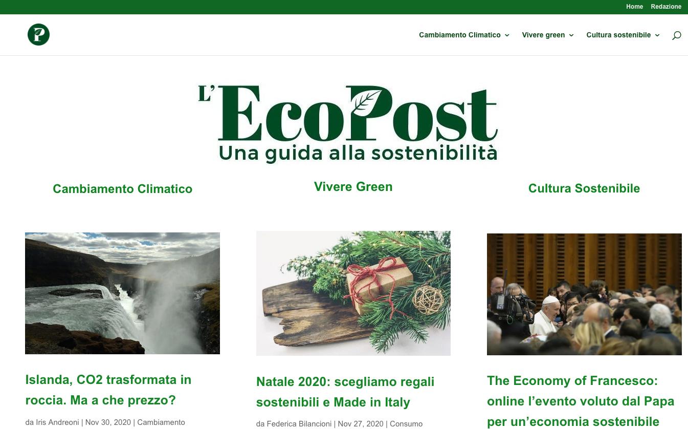 Ci ha intervistato l'EcoPost!